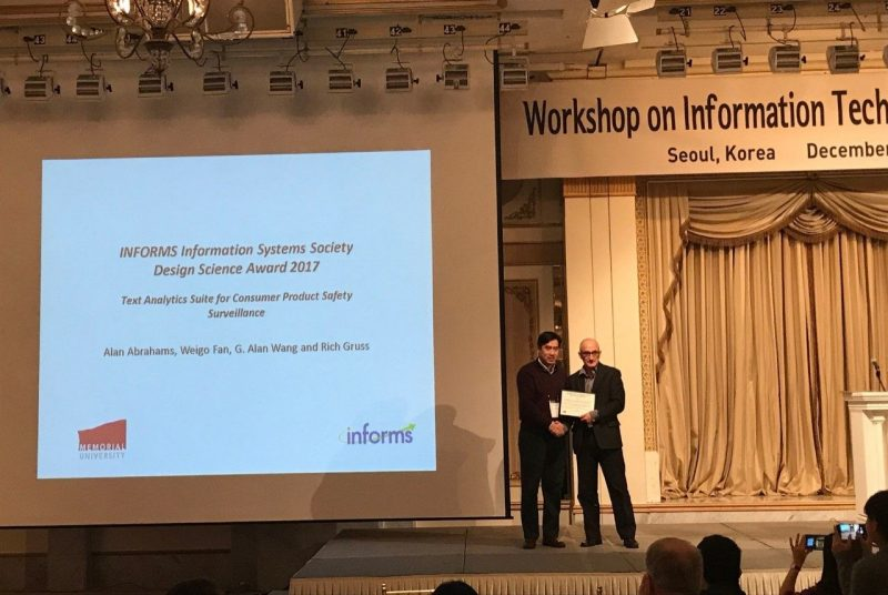 Virginia Tech researchers win award for analytics tools that identify product hazards
