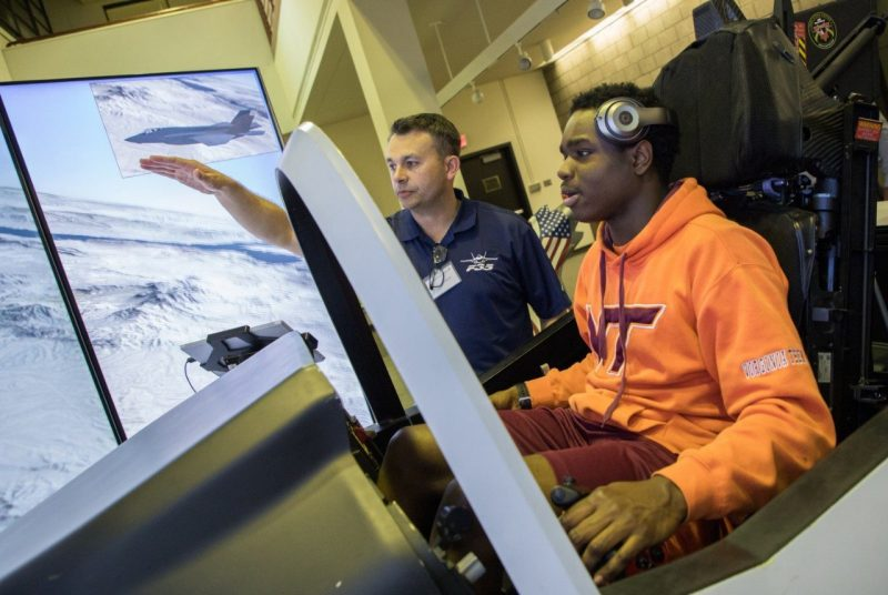 Lockheed Martin on campus Sept. 4 and 5, job offers and virtual reality demos